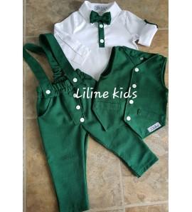 Žalias kostiumėlis