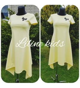 Trikotažinė suknelė vasarai