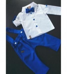 Royal blue spalvos dviejų dalių komplektukas